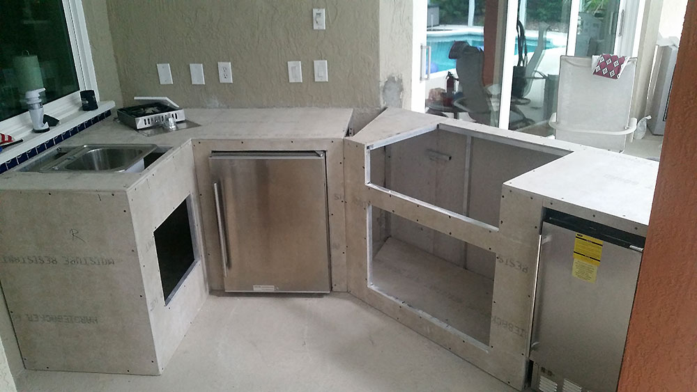 Outdoor Florida Kitchens Custom Kitchen Frames Grills And Accessories
