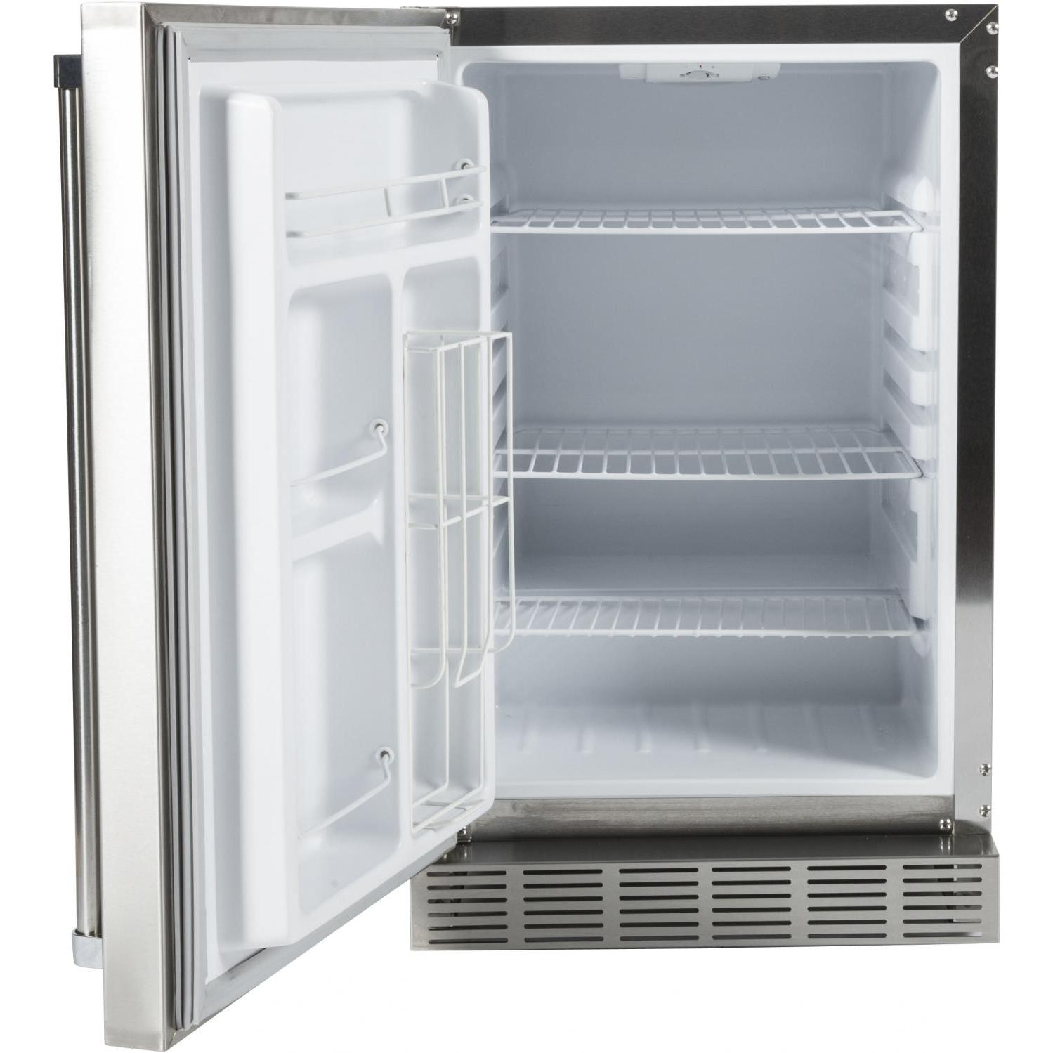 Coyote 21-Inch 4.1 Cu. Ft. Refrigerator - Outdoor Florida Kitchens