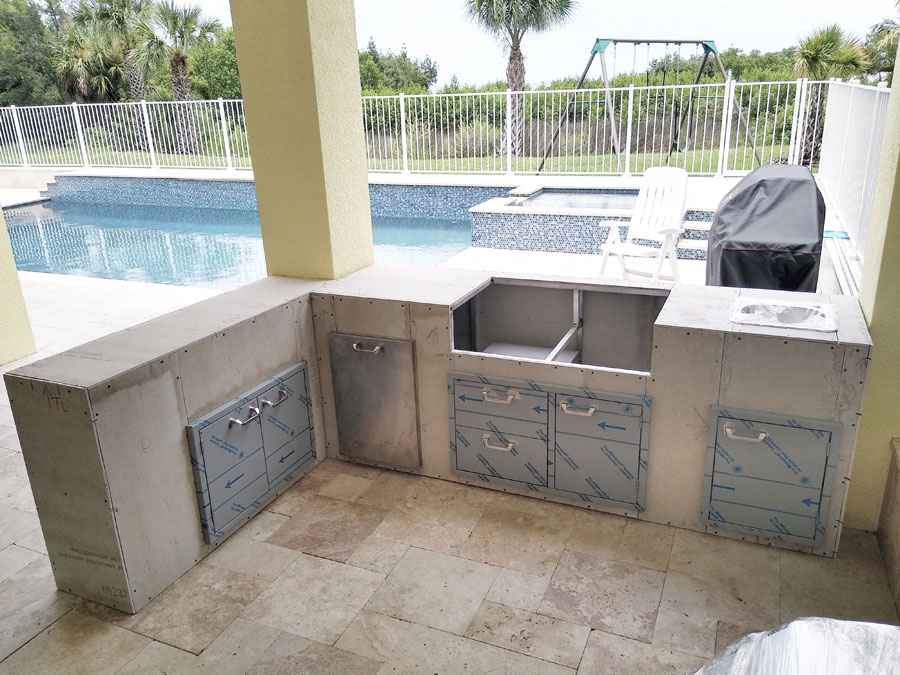 Outdoor Florida Kitchens Made In The Usa